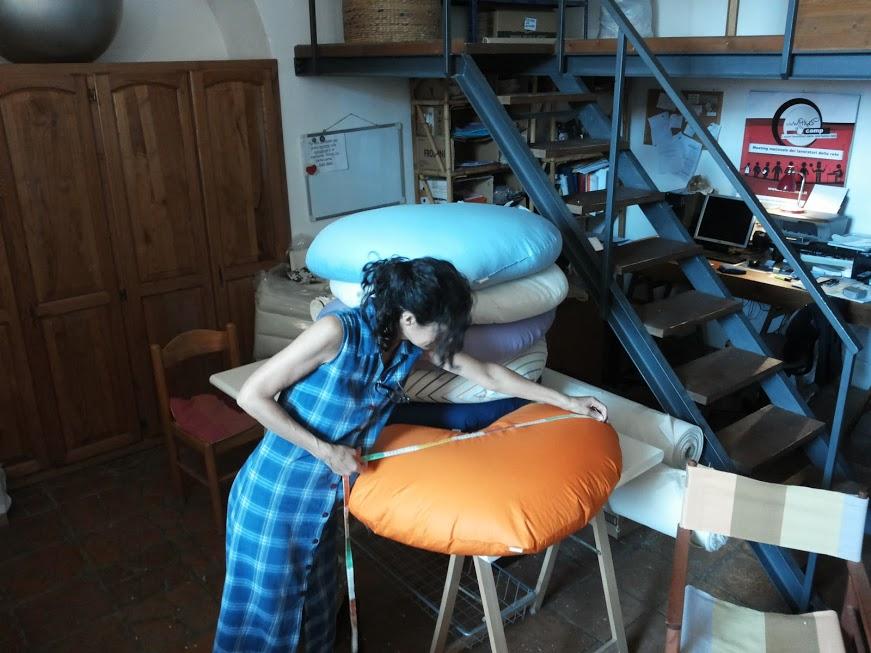 Cuscino Di Miglio Per Neonati.Ecoartigianato Di Silvia Bertolucci Cuscino Per Massaggio Neonatale