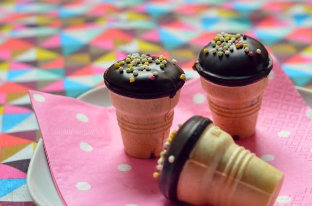 mädchenkram mini muffins im waffelbecher