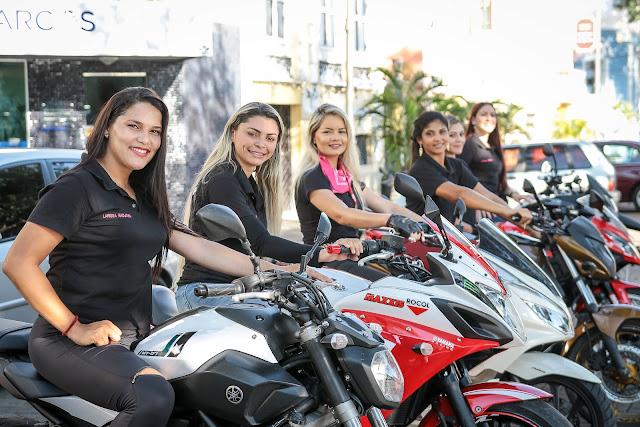 Liberdade e empoderamento! Conheça o clube de moto formado só por mulheres