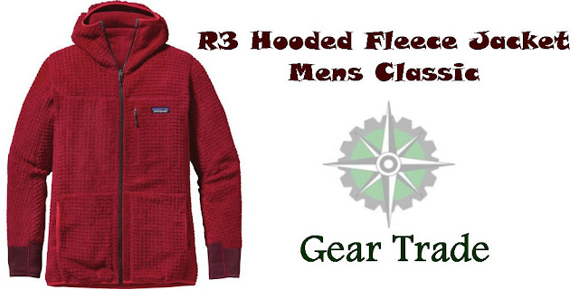 R3 Hooded Fleece Jacket - Men's Classic Red at Gear Trade