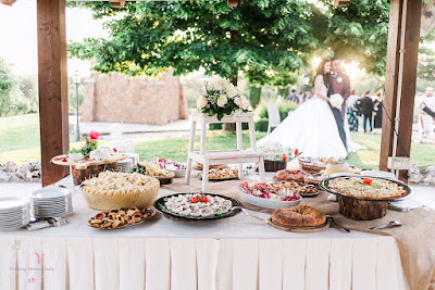 isole buffet matrimonio