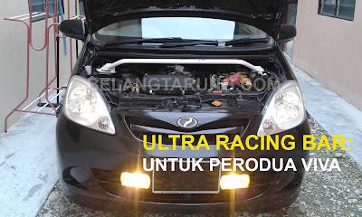 Ultra Racing Bar Pasang Perodua Viva