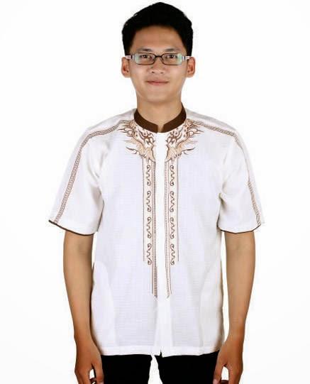 Trend Baju muslim pria lengan pendek