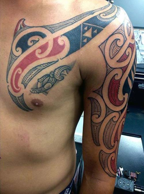 maori tribal dövmeler tattoos 34