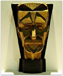 Fernando Corona - Máscara Cubista de Borges de Medeiros (1924)