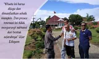 situs sejarah, cagar budaya, rumah bung karno, Rumah Pengasingan Bung Karno