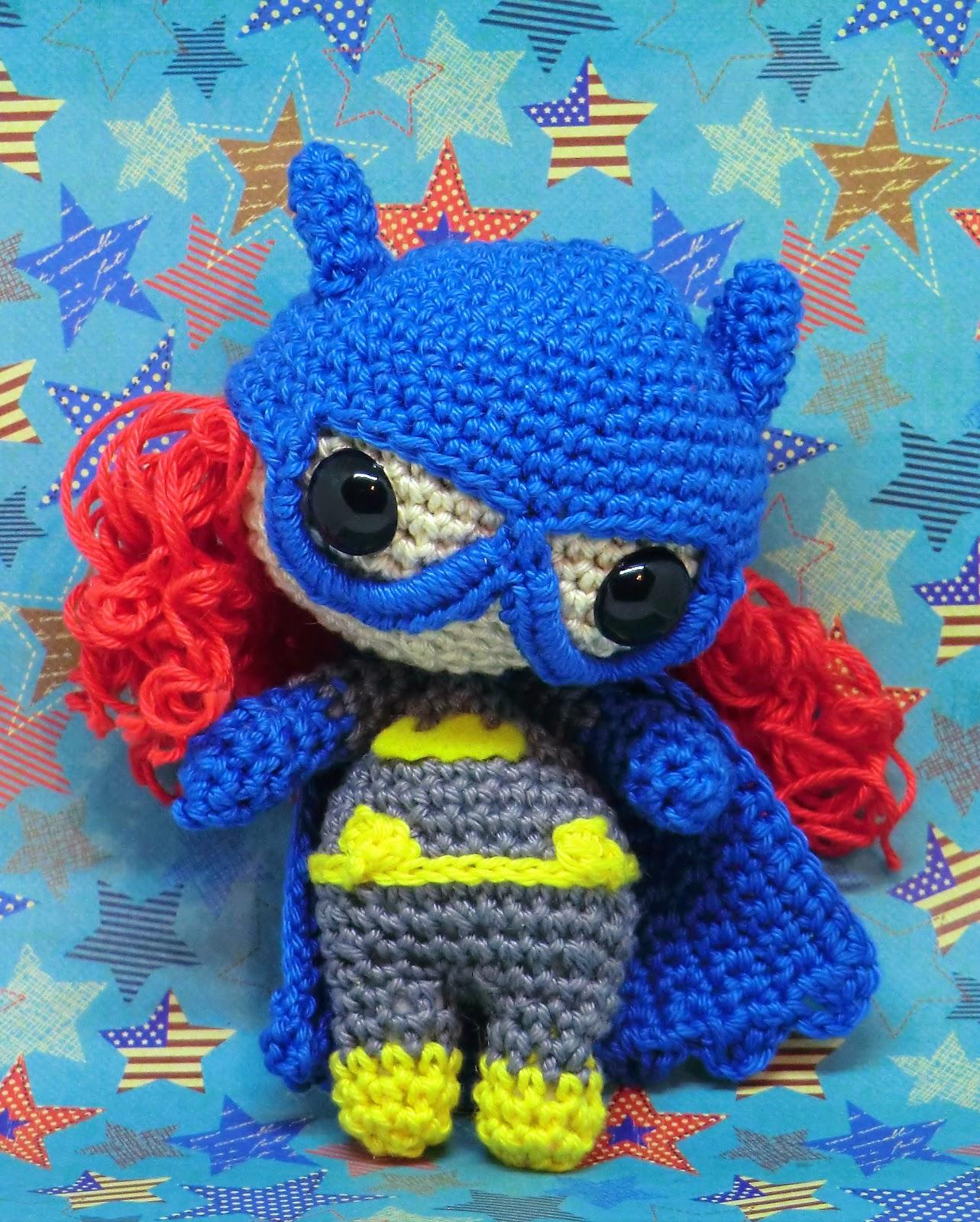 Crochet Patterns Galore - Batman Amigurumi | 1600x1283