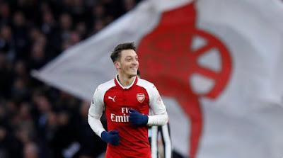 Arsenal Menang 1-0 atas Newcastle United