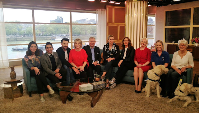 This Morning Presenters on the This Morning Sofa