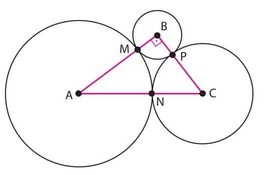 três circunferências