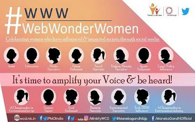 Web Wonder Women Campaign