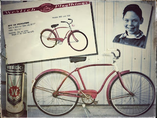 Neil Young Fahrrad 1954