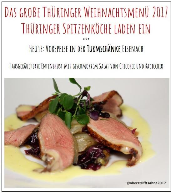 Werbung) Das große Thüringer Weihnachtsmenü 2017: Vorspeise in der ...