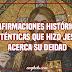 3 afirmaciones auténticas e históricos que hizo Jesús acerca su deidad