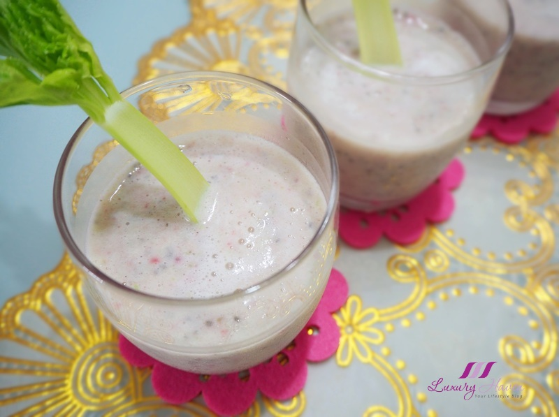 fibre rich no sugar added smoothie recipe