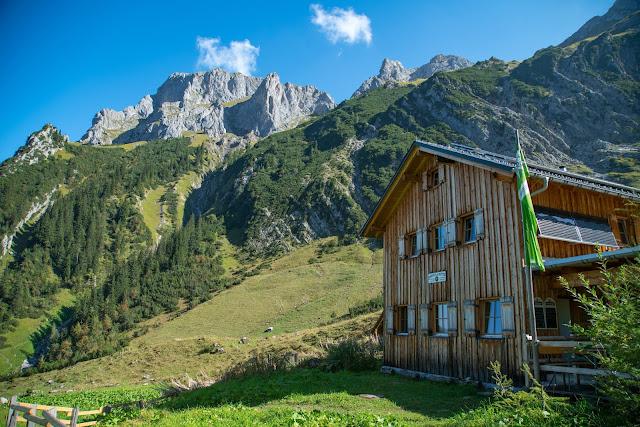 Rundweg Zimbajoch  Sarotla Hütte – Heinrich-Hueter-Hütte - Lünersee Wandern Brandnertal 04