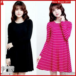 JDB040 FASHION Lengan Panjang Ond Wanita Dress 33