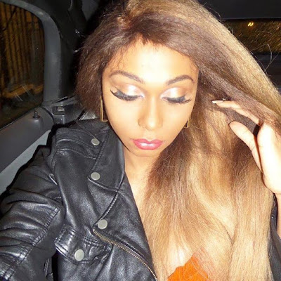 Photos: Nigerian transgender Miss Sahhara takes it all off
