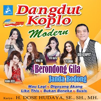 Download MP3 Dangdut Koplo Modern Vol 1 Tahun 2015