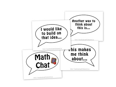 Teachingisagift: Math Chat