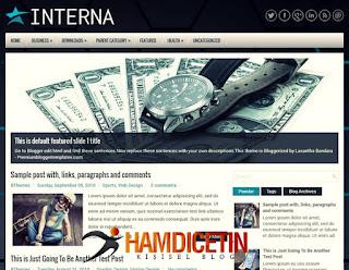 İnterna Blogger Teması