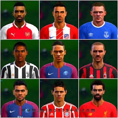 PES 2013 PESEdit 12.0 Patch + FIX Season 2017/2018