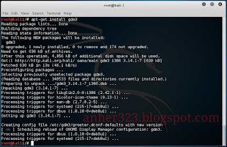 apt-get install gdm3