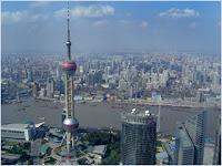 หอไข่มุกตะวันออก (Oriental Pearl Tower)