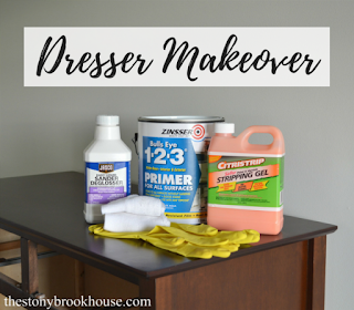 Dresser Makeover without sanding