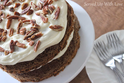 Carrot Cake recipe from Served Up With Love