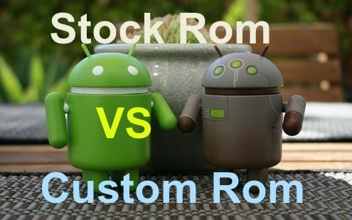 CUSTOM ROM AND STOCK ROM