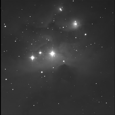 RASC Finest reflection nebula NGC 1977 luminance