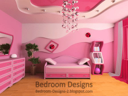 Pink Bedroom Designs Ideas