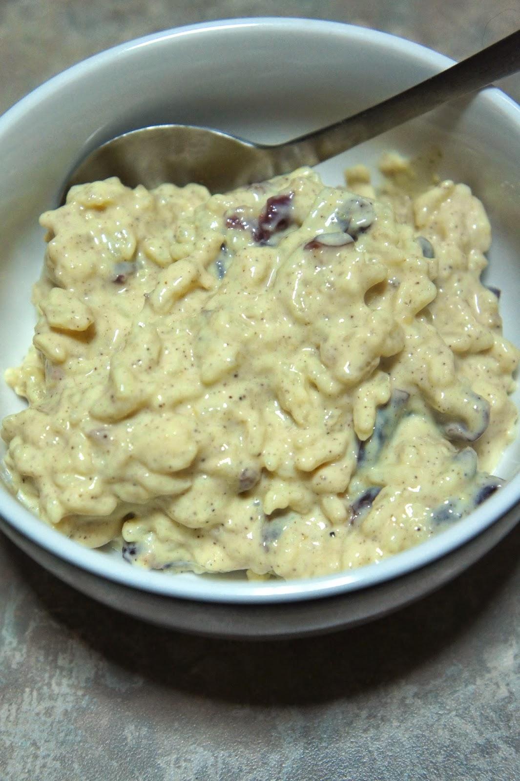 Egg Nog Rice Pudding: Savory Sweet and Satisfying