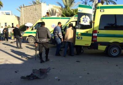 Terrorist attack in El-Arish, Egypt.