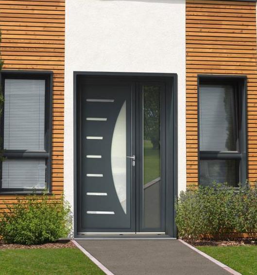 Model Pintu Kupu Tarung Minimalis