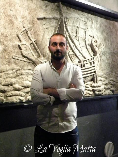 """Fadlallah Dandash proprietario del ristorante""""Adonis""""-Trieste"""