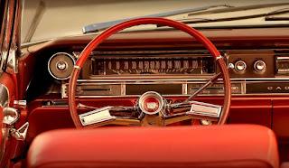 1961 Cadillac DeVille Convertible Steering Wheel