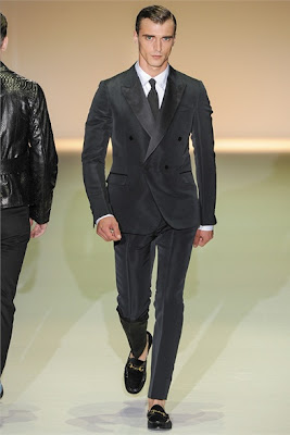 Double breasted jacket - one button - Gucci SS2013