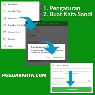 Registrasi Akun Google Toko Online Tokopedia
