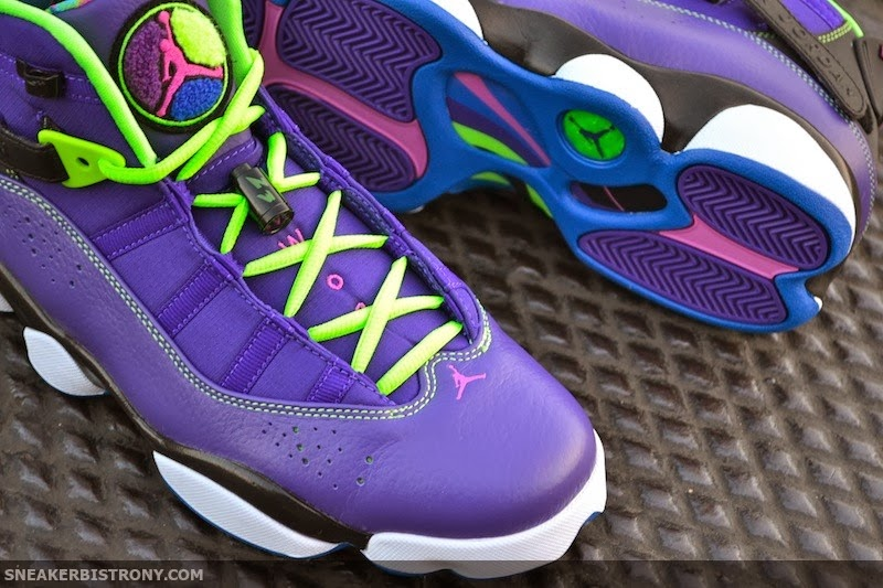 3d1a2196e3b8ba Jordan Brand has given another shoe the Fresh Prince treatment. You can  find the Jordan 6 Rings