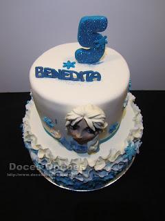 bolo parabens frozen bragança doces opções