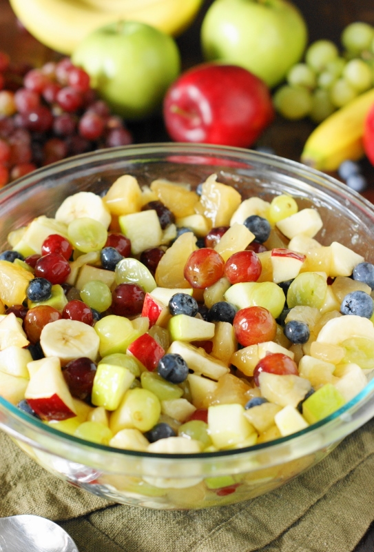 Apple Pie Filling Fruit Salad The Kitchen Is My Playground