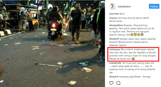 Festival HIK Klaten Rusuh