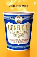 jose hermida Confucio y la máquina de cafe