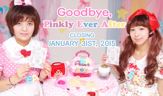 CLOSING PINKLY EVER AFTER STORE