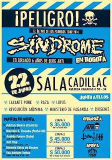 Sindrome del punk en Bogota