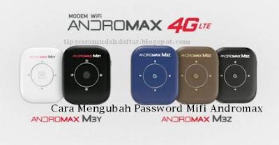 ganti password mifi m3y dan m3z