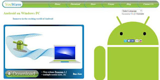 YouWave Android for Windows