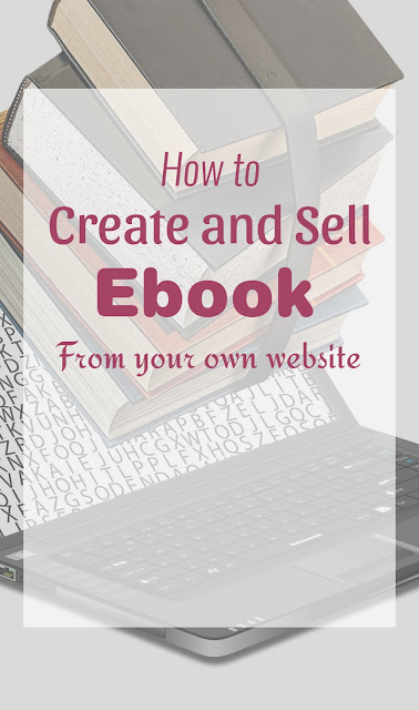 create and sell eBook from your own website